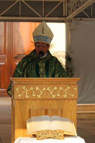Obispo pide valentía para devolver lo robado y asumir consecuencias