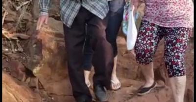 Abuelito de 102 años subió al Cerro Yaguarón