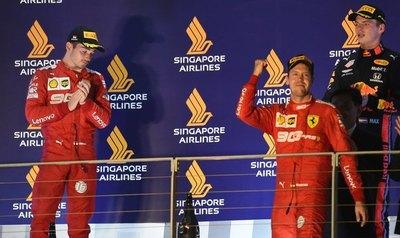 Vettel gana en Singapur y pone fin a una larga sequía de victorias