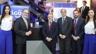 Tigo bate records en la Bolsa de Valores de Asunción