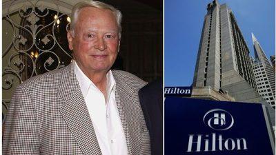 Murió el multimillonario hotelero Barron Hilton