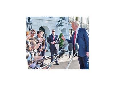 Trump no piensa reunirse con Rohaní