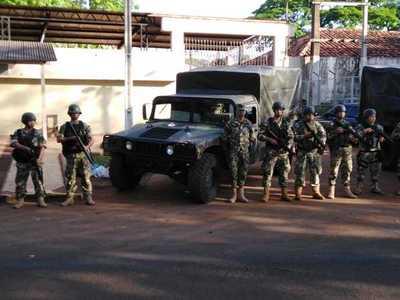 Militares custodian las cárceles tras declaración de emergencia penitenciaria