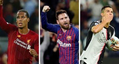 Lionel Messi, Cristiano Ronaldo y Virgil van Dijk: la FIFA elige al mejor Futbolista