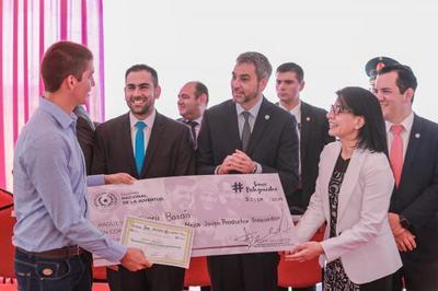 Jóvenes rurales reciben premios en concurso de innovación y sostenibilidad del sector agrario