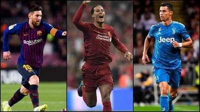 La FIFA elegirá hoy al mejor futbolista: Lionel Messi, Cristiano Ronaldo y Virgil van Dijk pujan por la copa