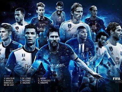 El once ideal de la FIFA