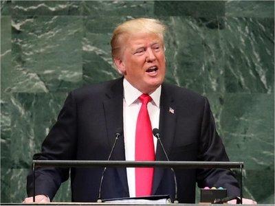 Trump pide promover aire y agua limpios sin hablar de crisis climática
