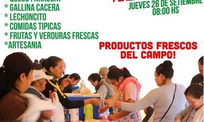 Preparan feria en Yguazú