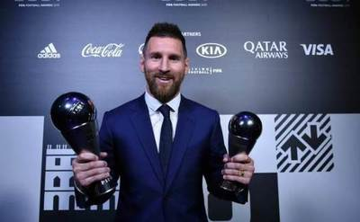 La FIFA elige a Messi como The Best 2019