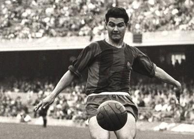 Eulogio Martínez abrió el Camp Nou
