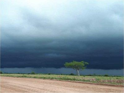 Sistema de tormentas ingresará al Norte del territorio paraguayo