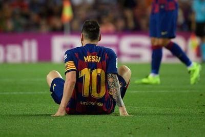 """Messi padece """"pequeñas molestias"""" en el abductor"""