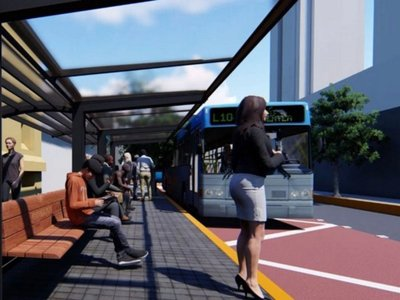 Estado invertirá USD 6 millones para buses eléctricos del Sitibús