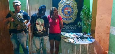 Concepción: Una joven y un menor caen con drogas
