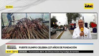 Fuerte Olimpo celebra 227 años de fundación