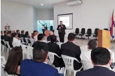 Hablemos de Justicia llegó a Salto del Guairá, en Canindeyú