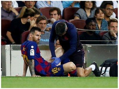 Barcelona informa acerca del parte médico de Lionel Messi