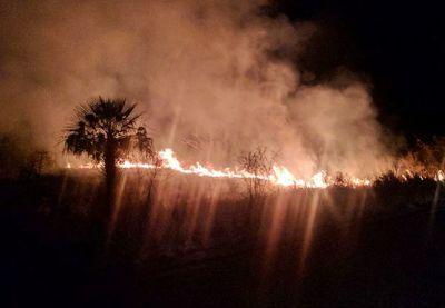 Los focos de incendio se redujeron a 21, según Infona