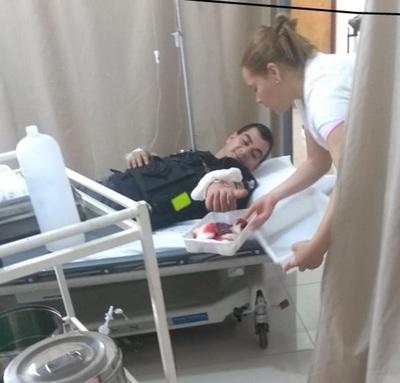 Guardia cárcel fue herido en el Penal de Concepción