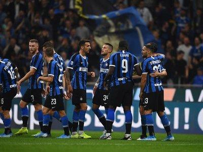 El Inter, único líder de la Serie A
