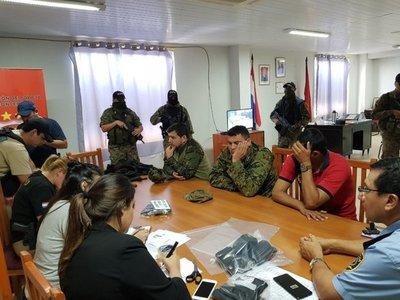 Comisario detenido fue entrenado por los yanquis