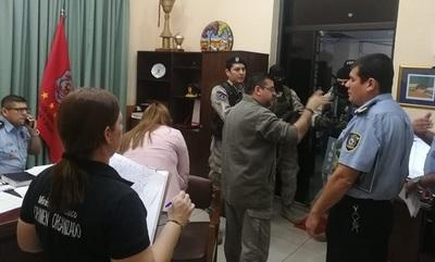 Imputan a jefes policiales vinculados a narcotráfico