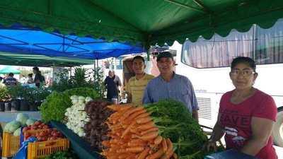 Feria granjera en la Costanera de Asunción se extiende hasta mañana