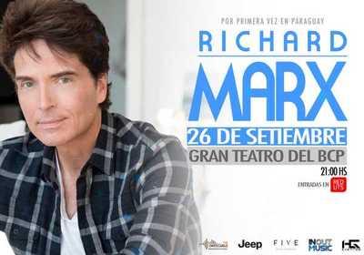 Richard Marx llega a Paraguay para deleitar al público con sus mejores éxitos