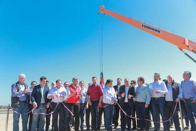 Gobierno habilita obras de infraestructura y entrega aportes en Pilar