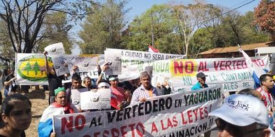 Abren sumario contra empresa que inició obras de vertedero en Yaguarón