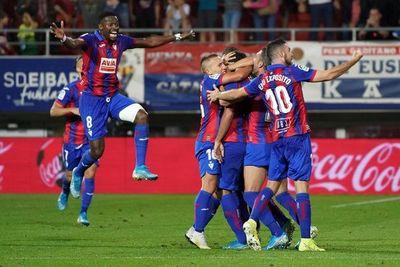 El Eibar vence al Sevilla