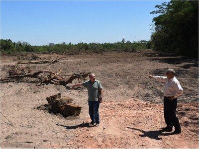 Admiten  que construirán una planta cloacal en área protegida de Areguá