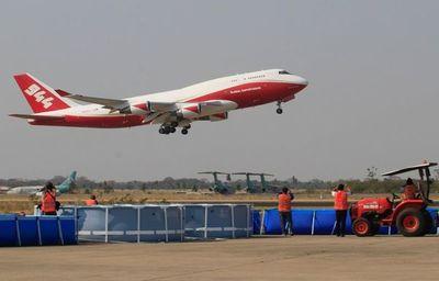 El avión Supertanker costaría US$ 2.500.000 por semana
