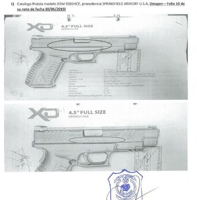 Intentó vender pistolas a la Policía con autorización de presunto traficante de armas