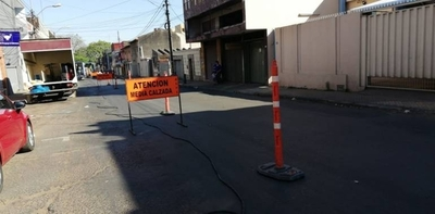 HOY / Cierran media calzada en Tte. Fariña: vecinos se quejan por falta de aviso