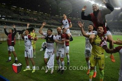 """Colón del """"Chelo"""" Estigarribia a la final de la Copa Sudamericana 2019"""