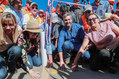 CORREDOR BIOCEÁNICO: Primer tramo asfaltado en la historia del Alto Paraguay