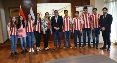 Jóvenes representarán al Paraguay en olimpiadas de matemáticas