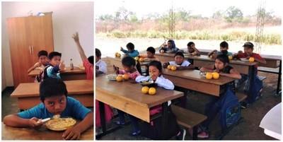 Continúan con entrega de almuerzo para escuelas más carenciadas