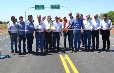 Habilitan tramo I de acceso a la ruta Bioceánica en Loma Plata