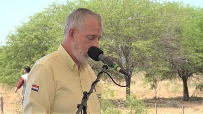 Reiteran pedido de conclusión del Acueducto en el Chaco al presidente