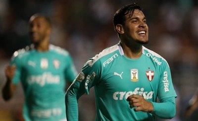 Gómez anotó en la goleada del Palmeiras