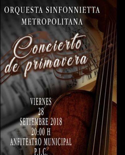 Gran concierto de primavera se realiza esta noche en Pedro Juan Caballero