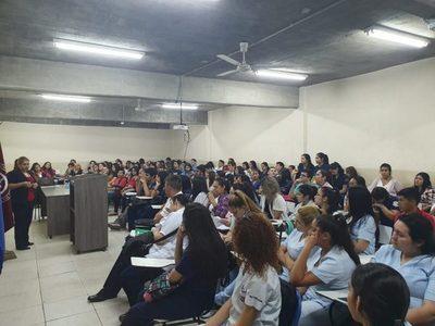 """JCI San Lorenzo realizó jornada """"Detección Temprana de Conductas de Riesgo"""""""