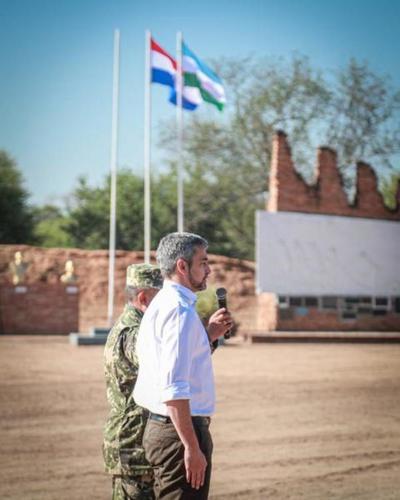Rinden homenaje a héroes de la victoriosa Batalla de Boquerón en el Chaco paraguayo