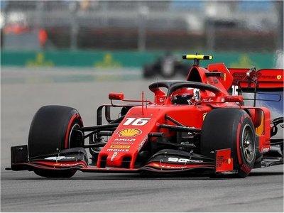 Leclerc partirá desde la 'pole'; Sainz saldrá quinto