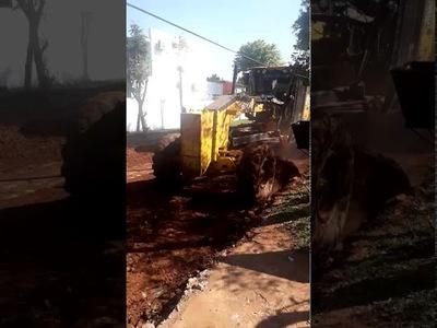 Tras pedido público, municipio ejecuta obras en plaza de Cambyretá