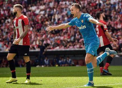 Valencia acaba con la buena racha del Athletic