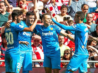 Ajustada victoria del Valencia sobre Athletic Club